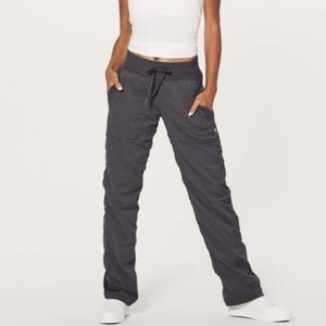 Lululemon Grey Lightweight Studio Dance Pants 8